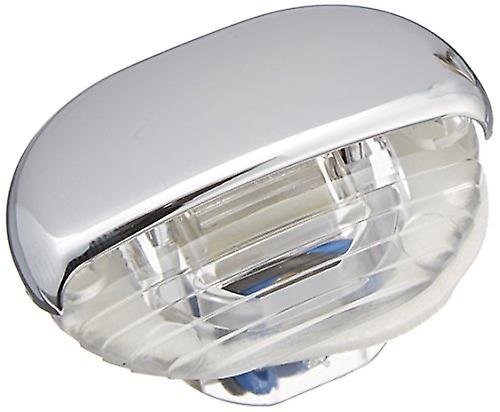 HELLA 998560041 &8560 Series& Easy Fit Multivolt bleu 12-24V DC LED Step Light with Clear Lens and Chrome Plated Plastic
