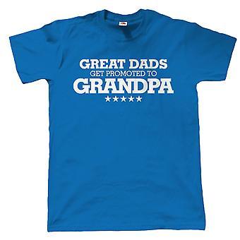 Gute Väter höher gestuft zu Opa Mens Funny T-Shirt - Geschenk zum Geburtstag