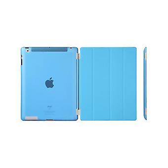 Case/Cover, iPad (2017)/iPad Air + shell in hard plastic Blue