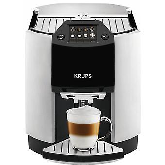 Krups EA9010 feijão a xícara de café máquina - prata / preto