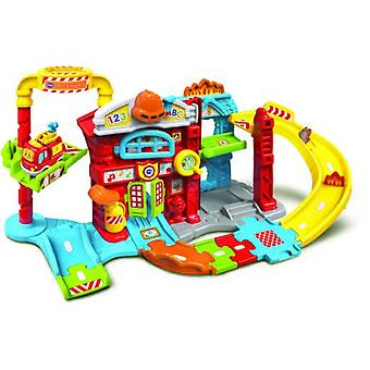 Vtech Tut Tut Fire Station and Bobi El Bombero (Spanish version)