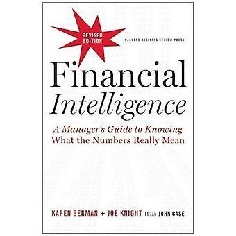 Financial Intelligence (Revised edition) by Karen Berman - 9781422144