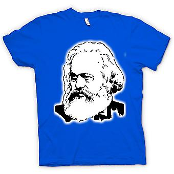 Heren T-shirt - Karl Marx - pictogram