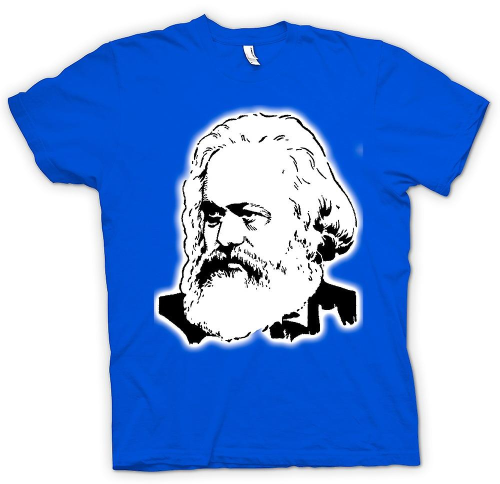 Mens T-shirt - Karl Marx - Icon