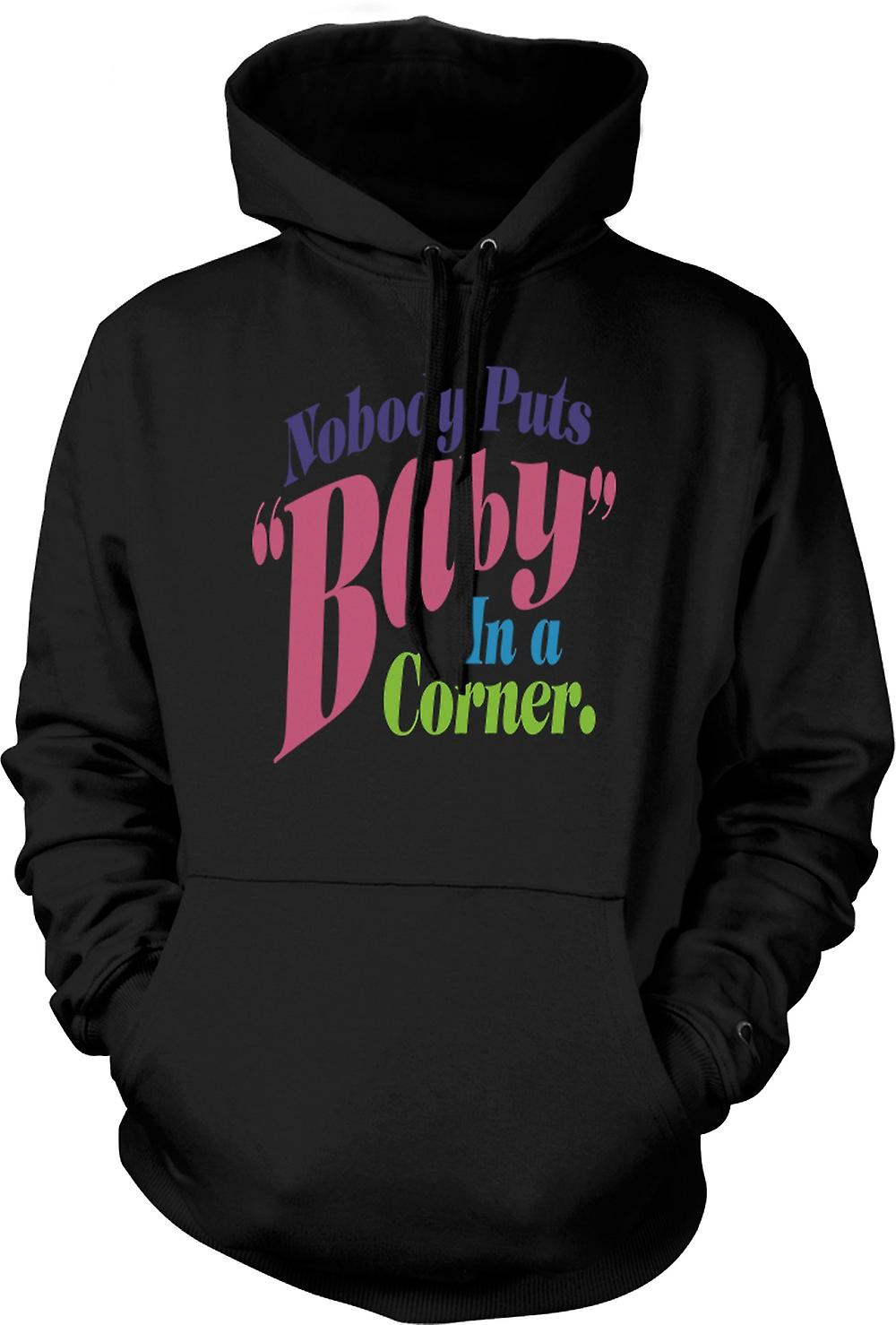 Mens Hoodie - Dirty Dancing - Baby In Corner - Funny