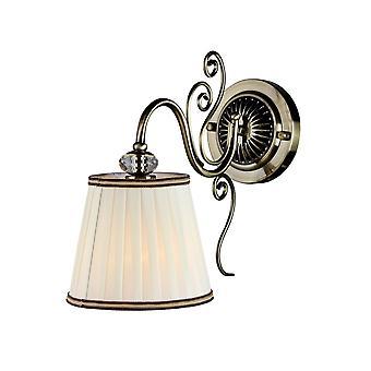 Maytoni belysning Vintage eleganta skans, brons