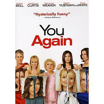 You Again [DVD] USA import