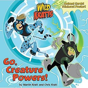 Go, Creature Powers!: Wild Kratts (Super Deluxe Pictureback)