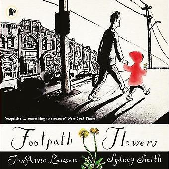 Gångstig blommor