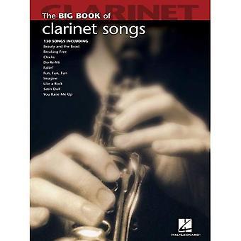 Il grande libro delle canzoni di clarinetto (grande libro (Hal Leonard))