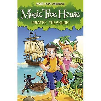 The Magic Tree House 4: Pirates' Treasure! (Magic Tree House)