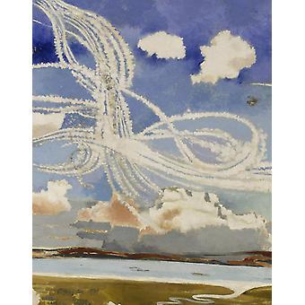 The Battle of Britain,Paul Nash,50x40cm