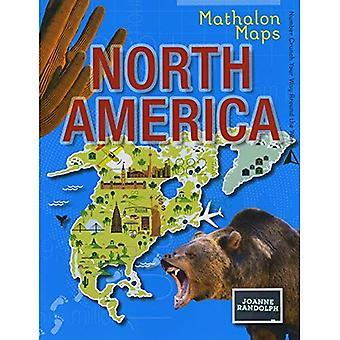 Noord-Amerika (Mathalon Maps)