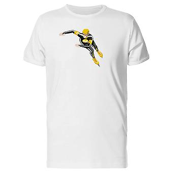 Speed Skating Racer Tee Men's -Image by Shutterstock