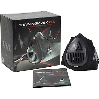 Training Mask 3.0 Lung Strength Trainer with Free Carrying Case - Black