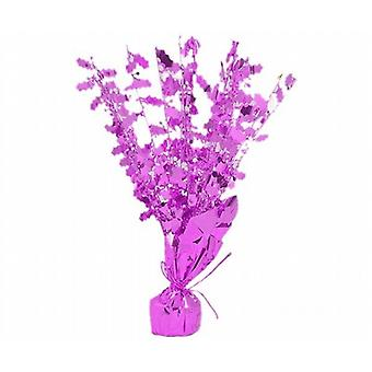 Foil Stars Party Table Centre Piece Balloon Weight Decoration Hot Pink Pack of 2 (SC0311C)