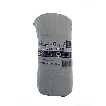 Country Club Reversible bereit Quilt, grau