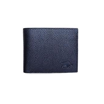 Portefeuille de pièce en cuir - noir
