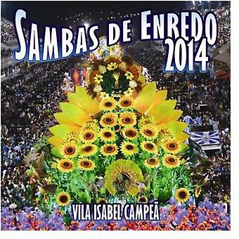 Sambas De Enredo 2014 - Sambas De Enredo 2014 [CD] USA import