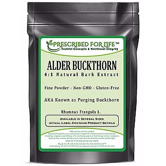 Buckthorn - 4:1 Natural Alder Bark Powder Extract (Rhamnus frangula L.)