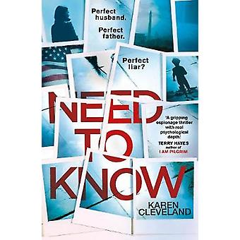 Need To Know by Karen Cleveland - 9780593079591 Book