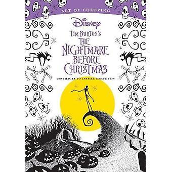 Art Of Coloring - Tim Burton's The Nightmare Before Christmas - 100 Ima
