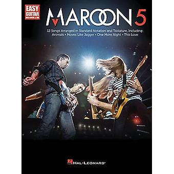 Maroon 5 Easy Guitar with Notes & Tab Gtr Book by Hal Leonard Publish
