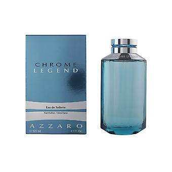 Azzaro Chrome Legend Eau De Toilette Vapo 125ml Fragrance Scent Mens Spray Boxed