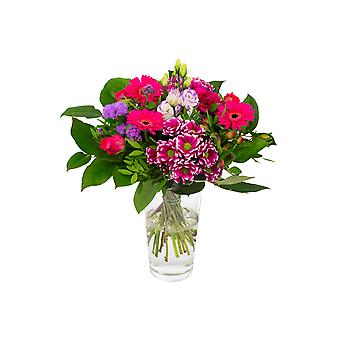 Botanicly - Bouquets | Bunch of Flowers Kim medium, purple | Height: 40 cm