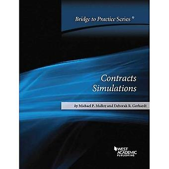 Contracts Simulations: Bridge to Practice