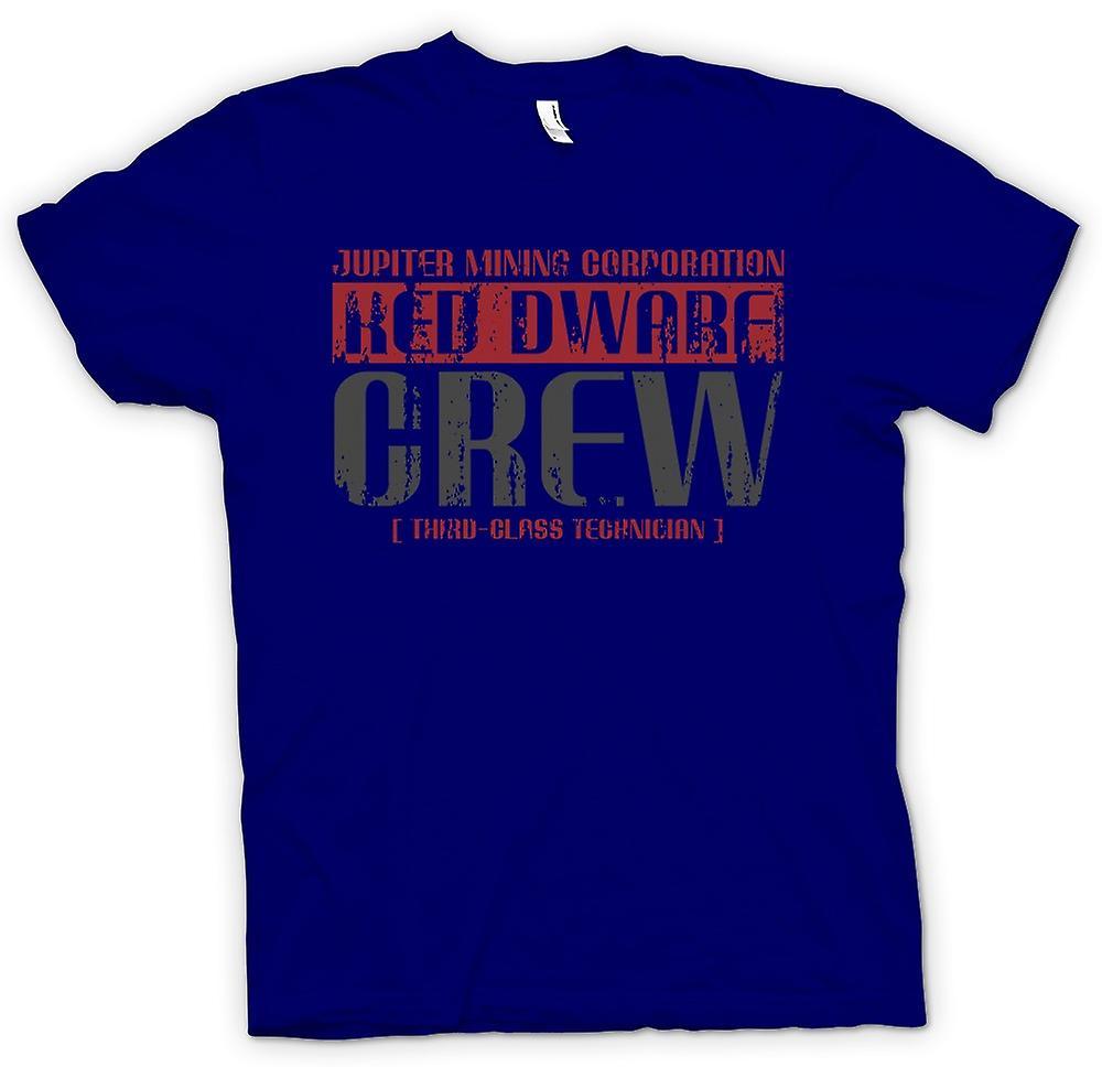 Mens T-shirt-Jupiter Mining Corp.  Technicien de nain Crew - 3e classe