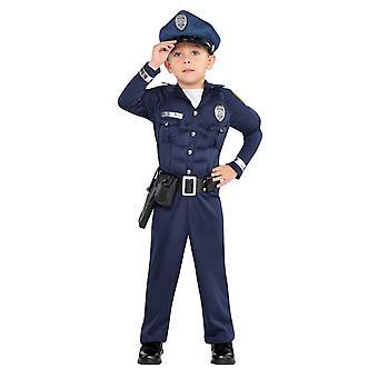 Ragazzi Poliziotto Bambino Costume