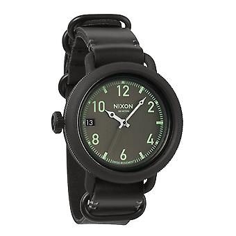 Nixon The October Leather All Black (A279001)