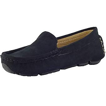 PPXID Toddler Little Big Kid's Boy's Boy's Suede Slip-on Loafers Chaussures décontractées
