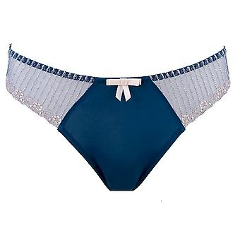 Parfait by Affinitas Tanya Thong Panties Blue Womens