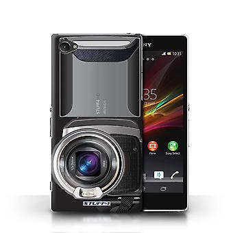 STUFF4 Case/Cover for Sony Xperia Z1 Compact/Video Camcorder/Camera