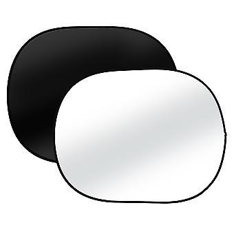 BRESSER BR-3 Faltbarer Hintergrund 150x200cm 2-seitig schwarz/weiß