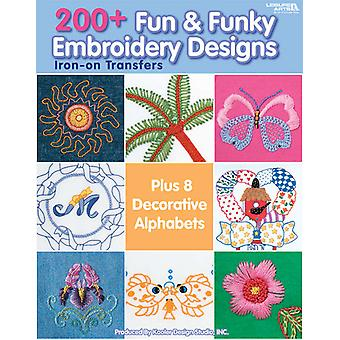 Leisure Arts 200+ Fun & Funky Embroidery De La 4330