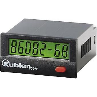 Kübler CODIX 134 Operating hours timer LCD