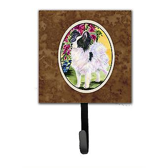 Papillon Leash Holder or Key Hook