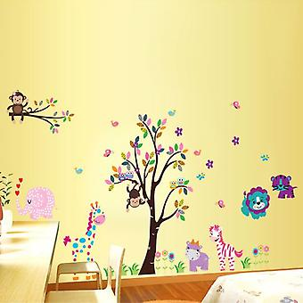 Superstudio Decorative Vinyl Color Tree And Animals- HCN1777-87