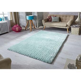 Tapis douceur menthe Rectangle tapis Plain/presque ordinaire