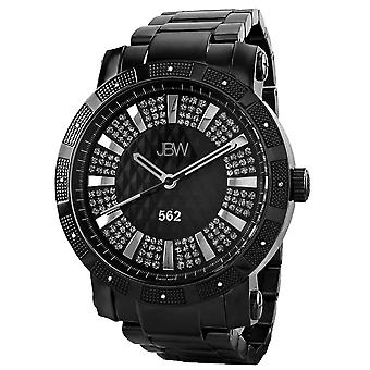 JBW diamond men's stainless steel watch 562 - black