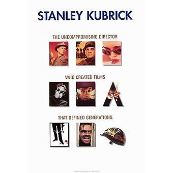Stanley Kubrick - promoción impresión de póster de película (27 x 40)