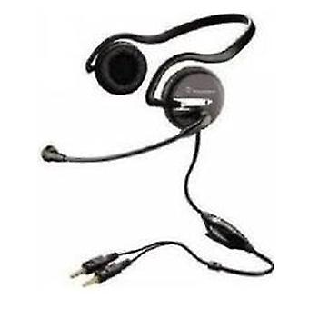 Plantronics Audio 345 headset microphone Annulment