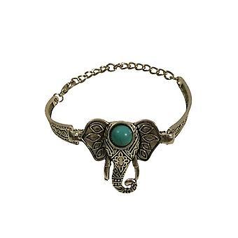 Nice boho chic statement bracelet with elephant