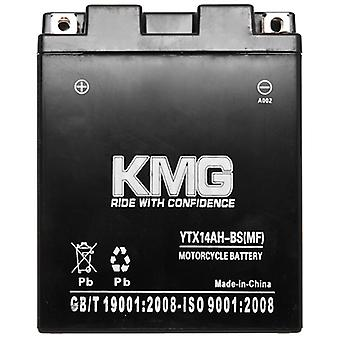 Arctic Cat Z 1998-2001 YTX14AH-BS Sealed Maintenace Free Battery High Performance 12V SMF OEM Replacement Maintenance Free Powersport Motorcycle ATV Scooter Snowmobile KMG