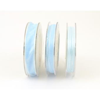 3mm Organza Craft Ribbon - 10m Reel - Baby Blue | Ribbons & Bows for Crafts