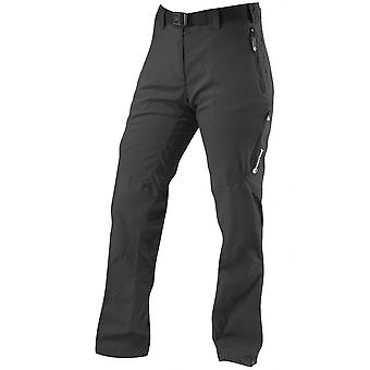 Montane Womens Terra Ridge Pants Regular Leg Black (Size UK 12)