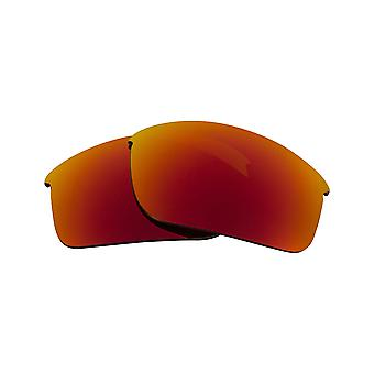 New SEEK Polarized Replacement Lenses for Oakley BOTTLE ROCKET Red Mirror